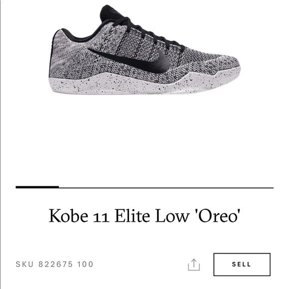 "san francisco d84ad 86d93 Nike Kobe 11 Elite Low ""Oreo"" Brand New M Sz 8.5"